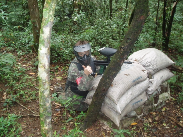Campo de Paintball Completo