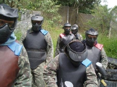 Campo de Paintball Infantil