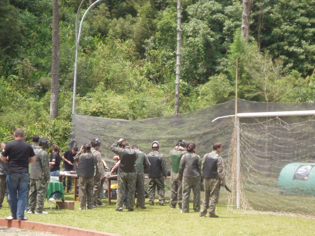 Laser Paintball
